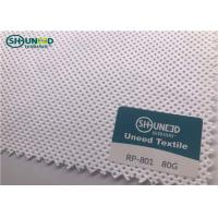 Buy cheap 4 Way Polypropylene Spunbond Nonwoven Fabric / Pp Non Woven Fabric 160cm Width from wholesalers