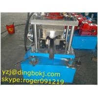 Buy cheap Guide Pillar Beam Purlin Roll Forming Machine Gearbox Driven from wholesalers