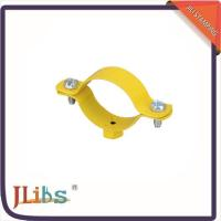 Custom Hex Nut Cast Iron Pipe Clamps M8 Welding Clamp Yellow Coating