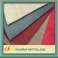 Buy cheap Modern upholstery 100% Polyester Micro Suede Fabric For Sofa / Shoe from wholesalers