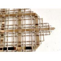 Buy cheap Popular Cabinets Decorative Wire Mesh Made In Stainless Steel Flat Wire from wholesalers