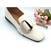 Buy cheap Round Abrasion Resistant Ladies Shoe Buckles , Shoe Buckle Replacement from wholesalers