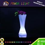Buy cheap Home Furniture Decorative Lighting Vase Plastic LED Flower Vase from wholesalers