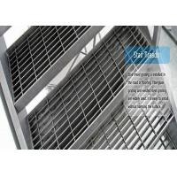Buy cheap Different Type Metal Grate Stair Treads, High Strength Grating Stair Treads from wholesalers