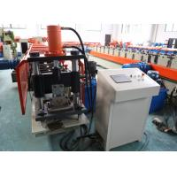 Buy cheap 1.5mm thickness  Galvanized coil Vineyard post stake roll forming machine with 6 meters auto stacker from wholesalers