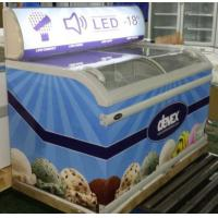 728L Commercial Display Refrigerator,Chest Freezer With Low Power Low Noise For