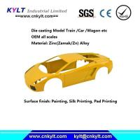 Buy cheap Precise Zinc/Zamak Metal Alloy Die Casting Model Car/truck/wagon/train (HO/TT SCALE) from wholesalers