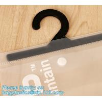 Buy cheap frosty transparent pvc hook bag for underwear packing,Frosted PVC Zipper Hook Bags For Swimwear Underwear,Swimwear,Short from wholesalers