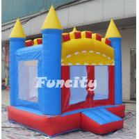 Buy cheap Colorful Inflatable Bounce Castle For Sale In Fire Retardant PVC Tarpaulin from wholesalers