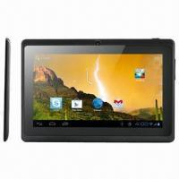 Buy cheap Tablet PCs, Google's Android 4.0.4, 7-inch Multi-touch Capacitive Screen, 1GB DDR3 RAM, 8GB NAND from wholesalers