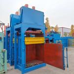 Buy cheap Hydraulic waste paper baler/plastic baling press machine/waste plastic hydraulic press baler machine from wholesalers
