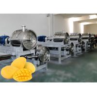 Buy cheap Safety Mango Juice Processing Plant  Juice Processing Equipment 1 - 20 Ton Per Hour from wholesalers