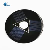 China 9V Customized sharp solar panel 0.5W for solar home lighting system ZW-R90-1 mini solar panel battery charger on sale