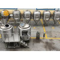 Buy cheap Customized Beer Brewing Equipment , Easy Operate Microbrewery Brewing Equipment from wholesalers