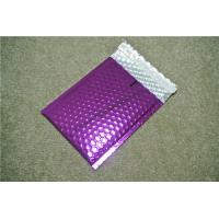 Buy cheap Antistatic Metallic Pink Bubble Mailers , Bubble Wrap Bags 135x210 #-AC from wholesalers