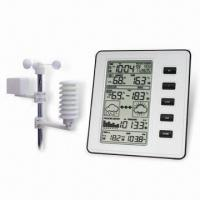 Buy cheap Wireless Weather Station with Working Frequency of 433MHz from wholesalers