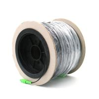 Buy cheap Simplex Fiber Optical Patch Cord SC SC APC Singlemode G657A1 FTTH Drop Cable Drum from wholesalers