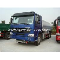 Buy cheap SINOTRUK HOWO 6X4 Water Tank Truck with 18 CBM and ZF8098 Steering Box ISO / CCC from wholesalers
