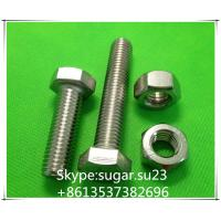 Buy cheap Bolt and nut stainless steel bolts and nuts 201,303,304,316 from wholesalers