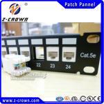 Buy cheap Cheap Wholesale UTP RJ45 Cat5e Patch Panel 24 Port from wholesalers