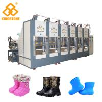 Buy cheap Two Stations EVA Rain Boot Making Machine With PLC Touch Screen System from wholesalers