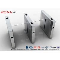 Buy cheap High Speed Drop Arm Turnstile , Magnetic Card Stainless Steel Access Control from wholesalers