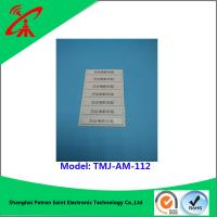 Buy cheap OEM 58khz Retail Alarming Magnetic Security Strips / Security Alarm Tag from wholesalers
