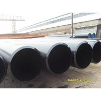 Buy cheap Non-alloy Seamless / SSAW API 5L Line Pipe 18 Inch 24 Inch SCH40 SCH80 , BE Coated product