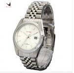 Buy cheap Iwtime watch male watch stainless steel belt quartz watch waterproof sheet male fashion brief from wholesalers