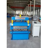 Buy cheap south africa ibr686 and corrugated 762 roofing machine roll forming machine 4kw power and 5.5kw frequency converter from wholesalers
