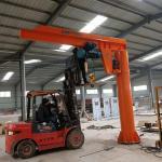 Buy cheap BZD Type Pillar Mounted Jib Crane 360 Degree Rotation Custom Made High Efficiency from wholesalers