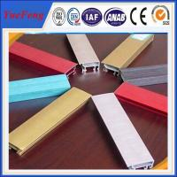 Buy cheap colorful aluminum building material,industrial/decorative aluminum profile extrusion from wholesalers