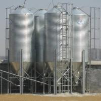 Buy cheap Steel Cone Feed Storage Bin Assembly with hot galvanized steel sheet from wholesalers