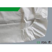 Buy cheap Emergency Non Woven Bed Sheet Hydrophobic Polypropylene Anti Static 54 X 88 Inches from wholesalers