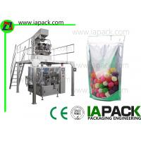 Buy cheap Candy bag Packing Machine With Multi-heads Weigher Doypack Packing Machine from wholesalers