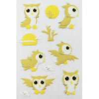 Buy cheap Printable Birds Puffy Animal Stickers For Kids Gifts Custom Eco Friendly product