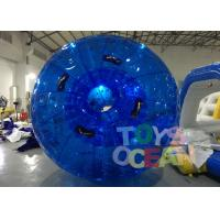 Buy cheap Diameter 3m Blue Inflatable Bumper Auqa Zorb Walking Ball , Inflatable Zorb Ball from wholesalers