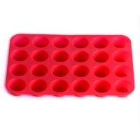 Buy cheap BPA Free Silicone Mini Muffin Pan With 24 Cavities from wholesalers
