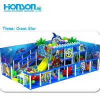 Buy cheap kids soft play area Candy Ocean Theme Slide kids indoor playground from wholesalers