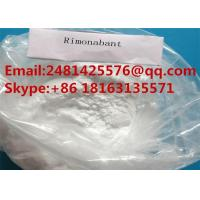 Buy cheap Raw Material Rimonabant Steroid Powder CAS 168273-06-1 for Weight Loss from wholesalers