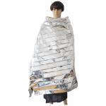 Buy cheap Waterproof Portable Emergency Blanket in Silver from wholesalers