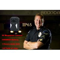 Buy cheap Law Enforcement 140 Degree 1296p 4g Body Camera IP65 Waterproof With Night Vision product