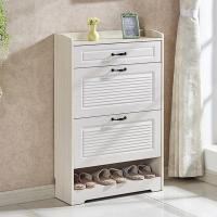 Buy cheap Waterproof Modern Shoe Cabinet Multi Layer Melamine Coated Particle Board from wholesalers