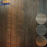 Buy cheap Interior Wooden PVC Furniture Film For MDF Boards , 0.3mm Thickness from wholesalers