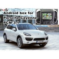 Buy cheap GPS car navigation box video interface for 10-16 Porsche PCM 3.1 cast screen from wholesalers