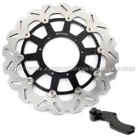 Buy cheap Custom 320mm Wave Floating Motorcycle Brake Discs For motorbike from wholesalers