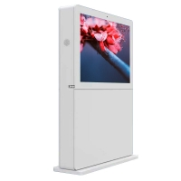 Buy cheap AC100V IP65 Touch Screen Information Kiosk Waterproof 55 Inch FCC product