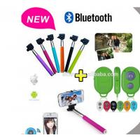 Buy cheap Selfie Stick Monopod Bluetooth Shutter Remote for iPhone / Android from wholesalers