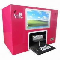 Buy cheap Flower Printer with Built-in 10.2 Inches PC Touch Screen, 12 Pieces Nail Tip One Time Printing from wholesalers