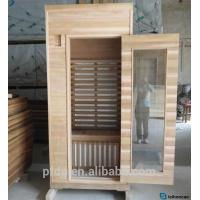 Buy cheap Mini Wooden Portable Sauna Room , Sauna Room Kits With One Layer Bench from wholesalers